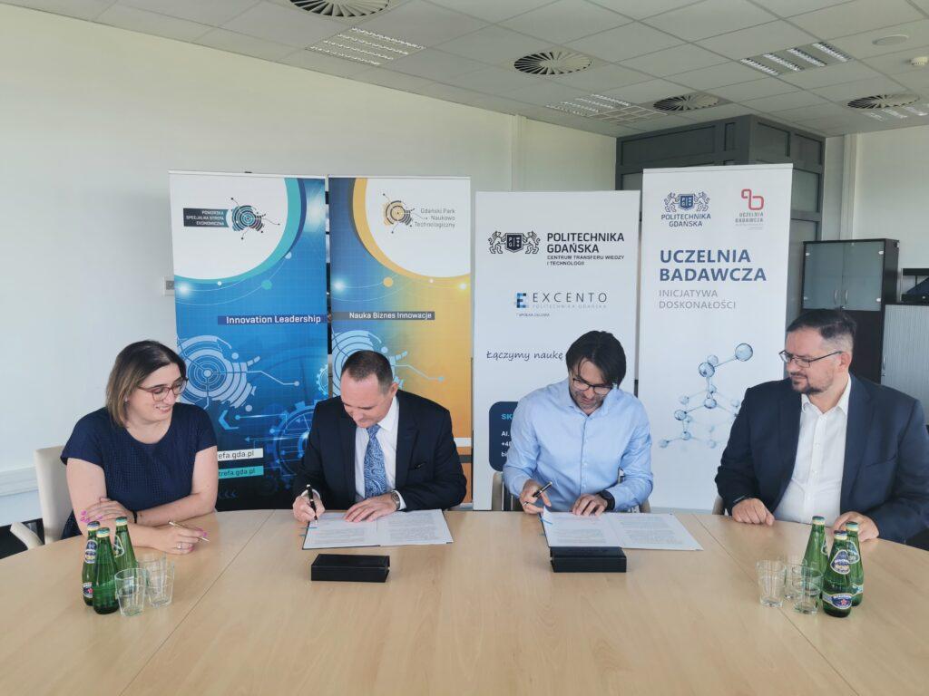 Podpisanie umowy o współpracy spółki Excento i Pomorskiej Specjalnej Strefy Ekonomicznej na realizację warsztatu Protolab II